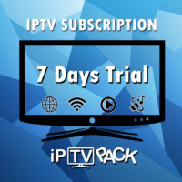 IPTV Smart TV Subscription - 7 Days Trial