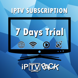 IPTV Smart TV Subscription - 7 Days Trial