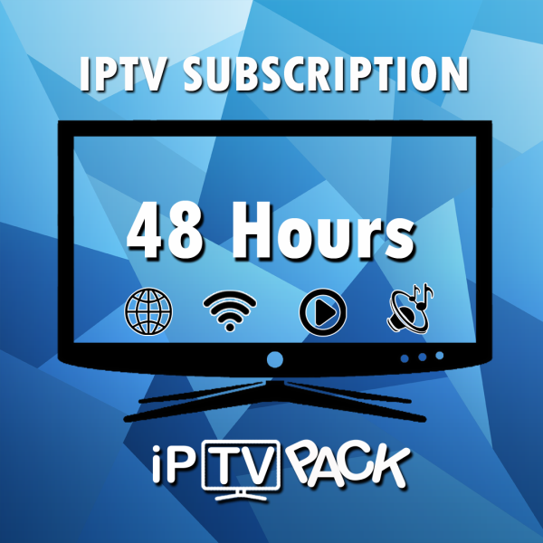 IPTV M3U IPTV Lists PC - 48H Trial IPTV Subscription IP TV Subscription